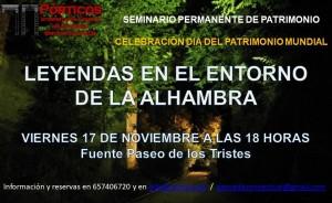 LAS  LEYENDAS EN EL ENTORNO DE LA ALHAMBRA