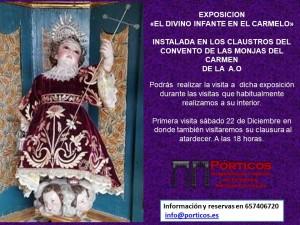 """VISITA A LA EXPOSICIÓN """"EL DIVINO INFANTE EN EL CARMELO"""""""