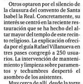 PRENSA MONASTERIO SANTA ISABEL LA REAL