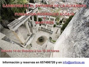 LOS CARMENES EN EL ENTORNO DE LA ALHAMBRA