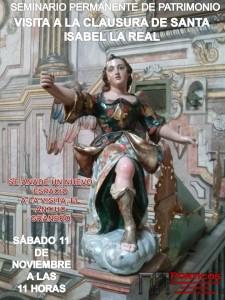 VISITA GUIADA A LA CLAUSURA DEL MONASTERIO DE SANTA ISABEL LA REAL
