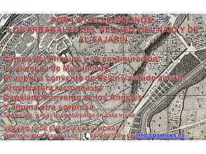 POR LA CALLE DE LOS MOLINOS: LOS ARRABALES DEL AL-FAJARIN, NAID Y NECHET