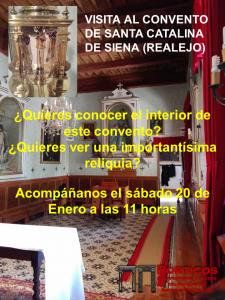 VISITA AL INTERIOR DEL CONVENTO DE SANTA CATALINA DE SIENA (REALEJO) Y SU RELIQUIA