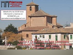 VISITA A LA IGLESIA DE SAN CRISTÓBAL (INTERIOR), ALJIBE (INTERIOR) Y SU ENTORNO HISTÓRICO.