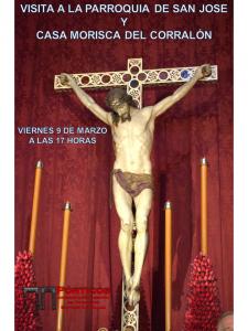 VISITA A LA PARROQUIA DE SAN JOSÉ  Y CASA MORISCA DEL CORRALÓN