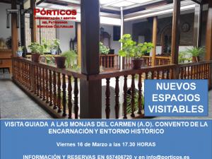 VISITA AL CONVENTO DE LA MONJAS DEL CARMEN  A.O (CALZADAS)