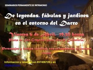 DE LEYENDAS, FÁBULAS  Y JARDINES EN EL ENTORNO DEL DARRO