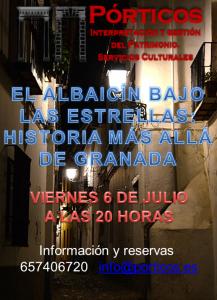 VISITA EL ALBAICÍN BAJO LAS ESTRELLAS: HISTORIA MÁS ALLÁ DE GRANADA.