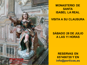 VISITA A LA CLAUSURA DE SANTA ISABEL LA REAL