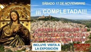 VISITA A LA FORTALEZA DE LA MOTA Y EXPOSICIÓN DE MARTÍNEZ MONTANÉZ