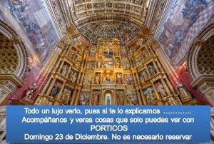 VISITA AL MONASTERIO DE SAN JERÓNIMO. SE INCLUYEN ESPACIOS NO VISITABLES