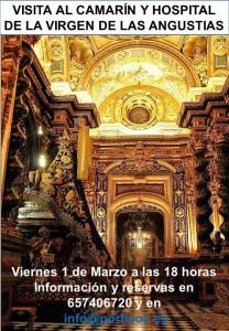 VISITA AL CAMARIN DE LA VIRGEN DE LAS ANGUSTIAS Y ANTIGUO HOSPITAL-MUSEO DE LA HERMANDAD.
