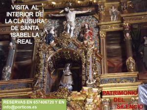 VISITA A LA CLAUSURA DE SANTA ISABEL LA REAL (ALBAICÍN).