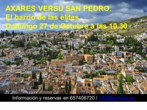 CAMBIO DE FECHA. DOMINGO 27 DE OCTUBRE