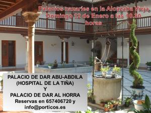 PALACIOS NAZARIES EN LA ALCAZABA VIEJA