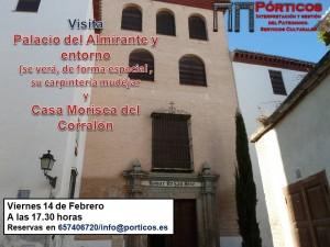 VISITA AL PALACIO DEL ALMIRANTE Y CASA MORISCA DEL CORRALÓN.