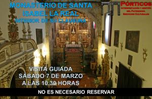 CONOZCA EL MONASTERIO DE SANTA ISABEL LA REAL Y SU CLAUSURA.