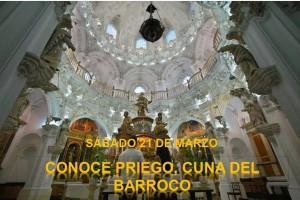 SUSPENDIDO. CONOCE PRIEGO: CUNA DEL BARROCO