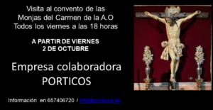 Visita al convento de las Monjas del Carmen de la A.O.