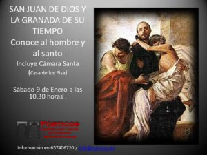 LA GRANADA DE SAN JUAN DE DIOS. Incluye visita a Cámara Santa