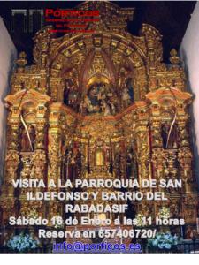 LA PARROQUIA DE SAN ILDEFONSO Y BARRIOS DEL RABADASIF Y XAREA
