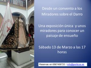 DESDE UN CONVENTO A LOS MIRADORES ALREDEDOR DEL DARRO.