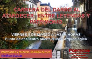 LAS LEYENDAS EN EL ENTORNO DEL DARRO AL ATARDECER: ENTRE LAS LEYENDAS Y PATRIMONIO