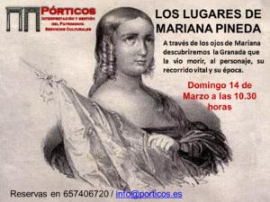 LOS LUGARES DE MARIANA PINEDA