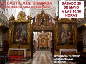 VISITA CULTURAL AL MONASTERIO DE LA CARTUJA