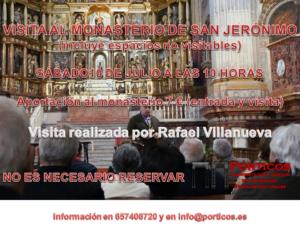 VISITA AL MONASTERIO DE SAN JERÓNIMO